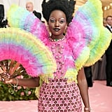 Lupita Nyong'o's Hair and Makeup at the Met Gala 2019