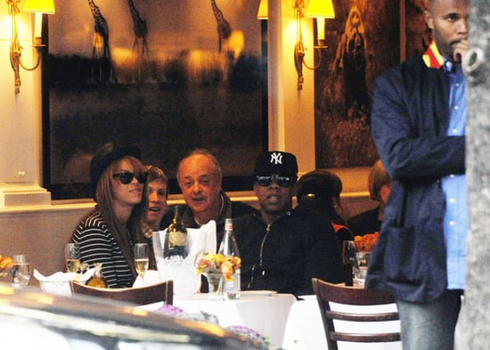Beyonce and Jay-Z  do lunch
