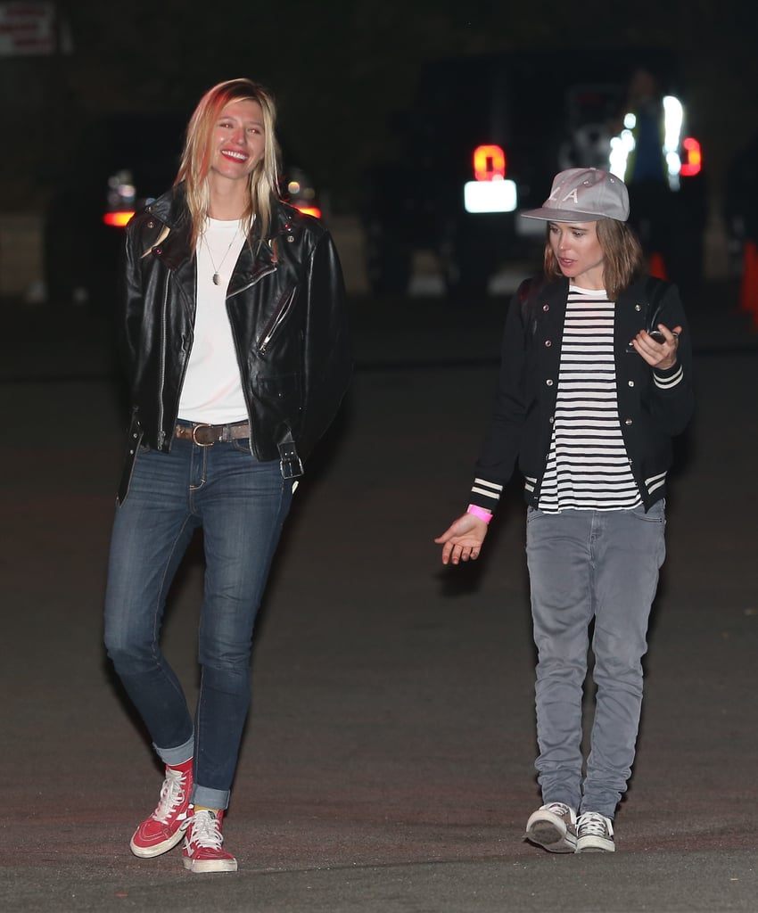 Ellen Page and Samantha Thomas