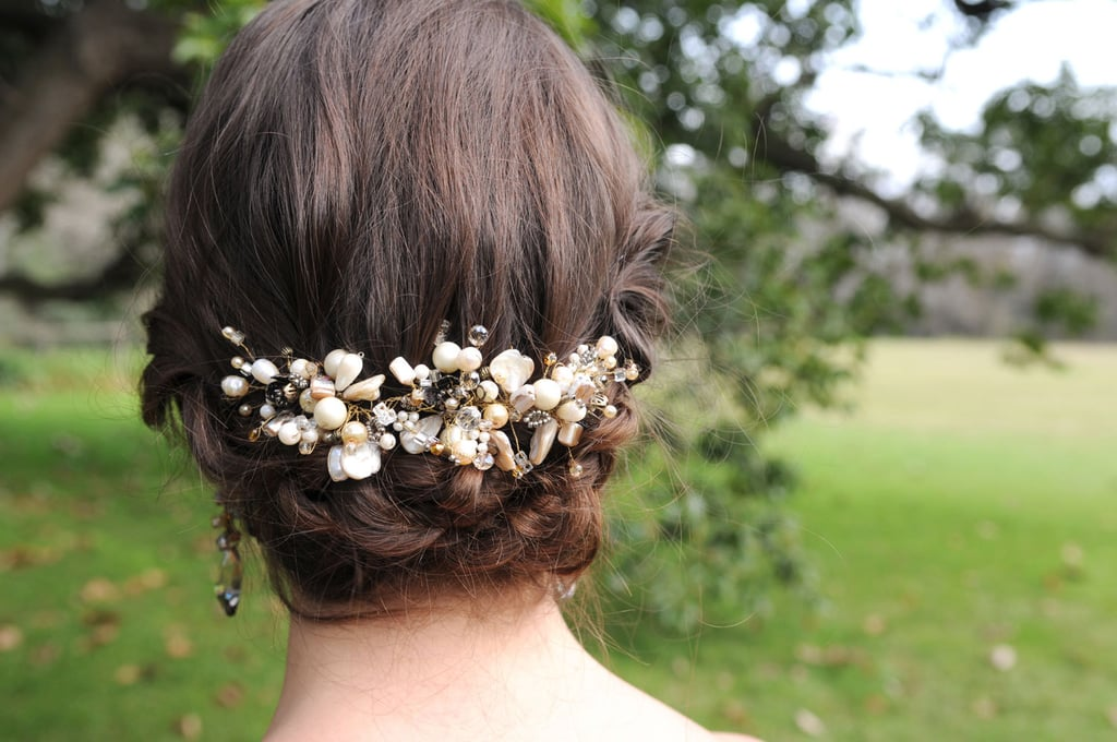 This vintage hair accessory ($85) has a classic yet unique feel.