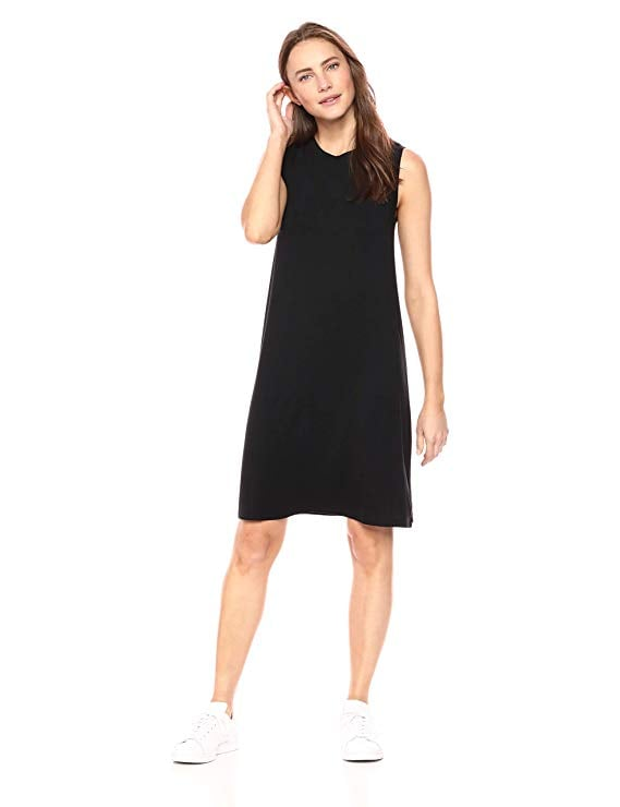Daily Ritual Women's Jersey Muscle Swing Dress