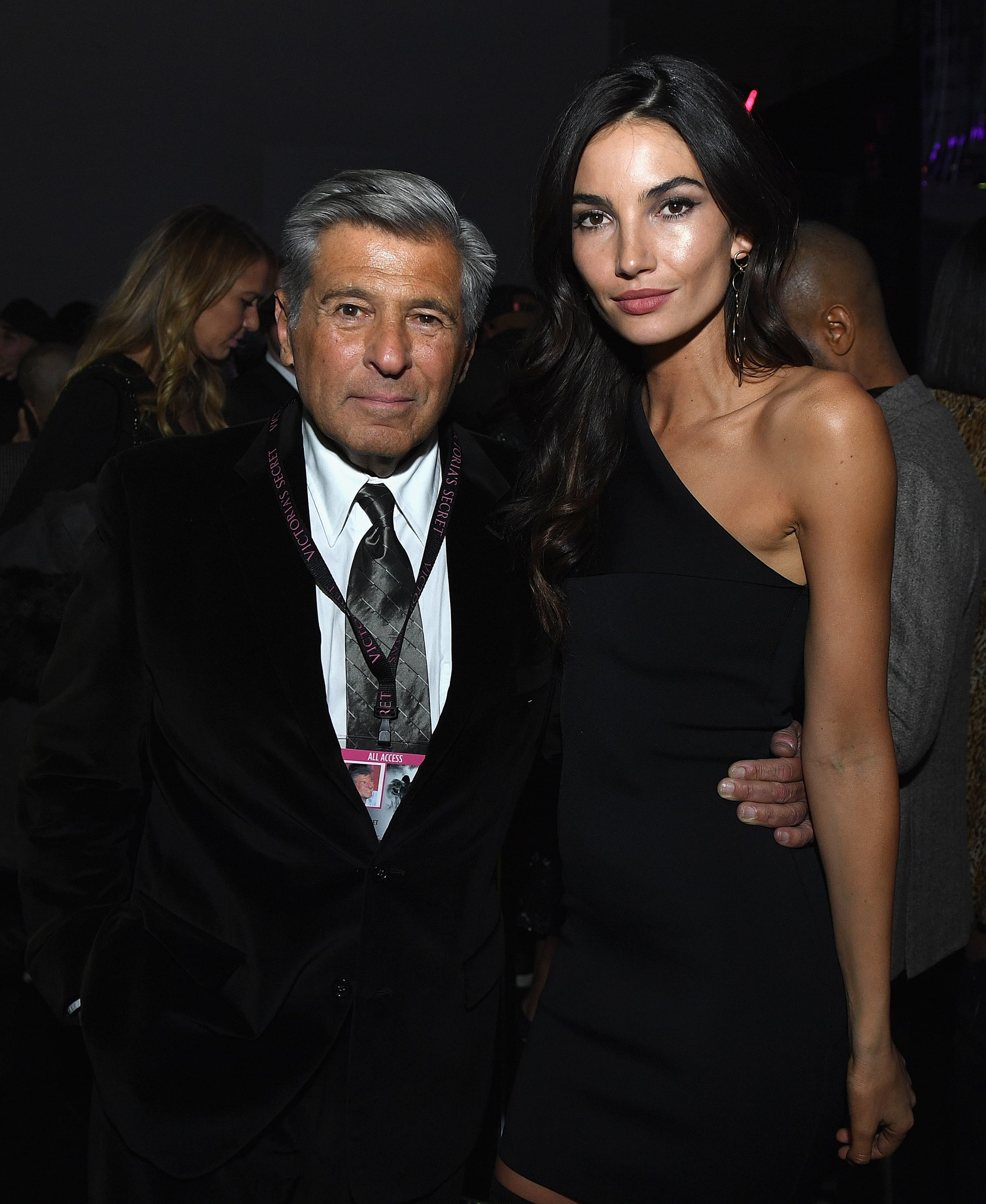 PARIS, FRANCE - NOVEMBER 30: Edward Razek and Lily Aldridge attend the Victoria's Secret After Party on November 30, 2016 in Paris, France.  (Photo by Dimitrios Kambouris/Getty Images for Victoria's Secret)