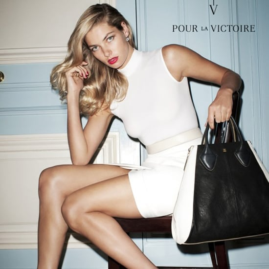 Jessica Hart Models For Designer Label Pour La Victoire, Shot By Terry Richardson