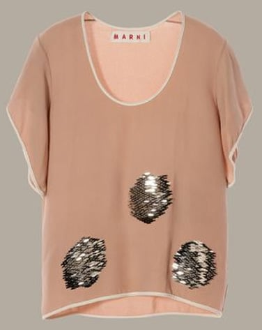 Embroidered Silk Blouse