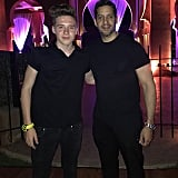 Magician David Blaine attended the bash.