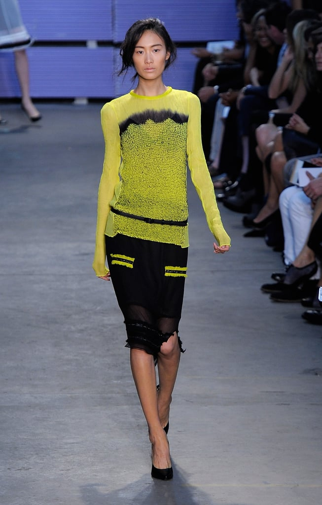 Proenza Schouler Goes Lady-Like — But With Tie Dye and Neon — for Spring 2011