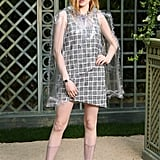 Ellie Bamber Hopped Aboard the PVC Trend, Too