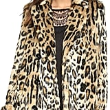 Alice + Olivia Montana Faux Fur Coat ($596)