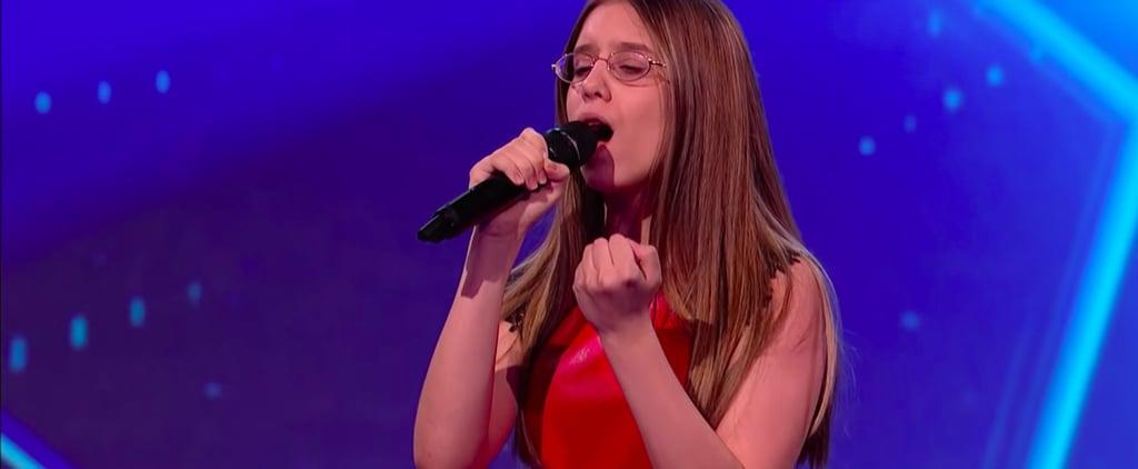 "Iveta ""I'll Never Love Again"" on Ireland's Got Talent Video"