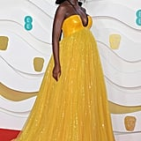 Jodie Turner-Smith at the 2020 BAFTAs in London