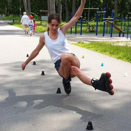 Vasilisa Maslova Rollerblading Videos