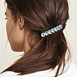 Marc Jacobs Scalloped Crystal Barrette
