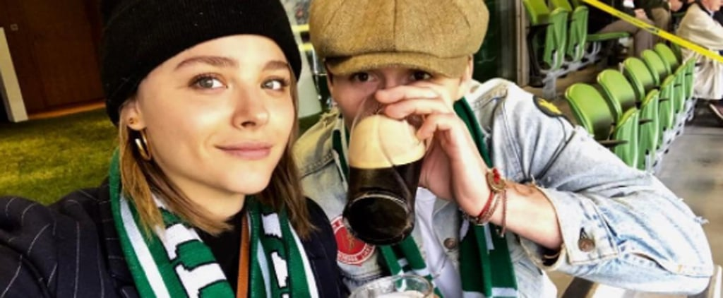 Chloë Grace Moretz and Brooklyn Beckham Are Lucky in Love With PDA-Filled Weekend in Dublin