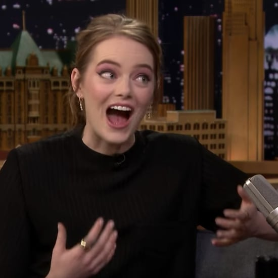 Emma Stone Talks Leonardo DiCaprio on The Tonight Show 2018