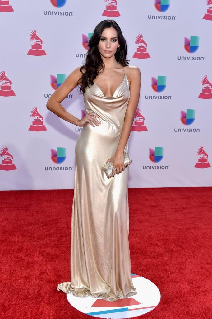 Genesis Rodriguez at the 2015 Latin Grammys