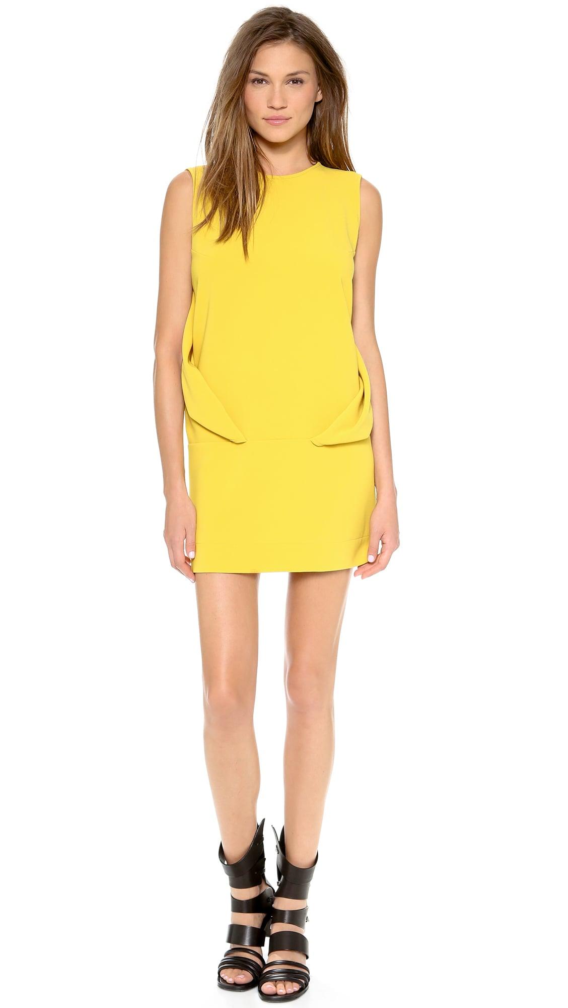 Robert Rodriguez Yellow Dress