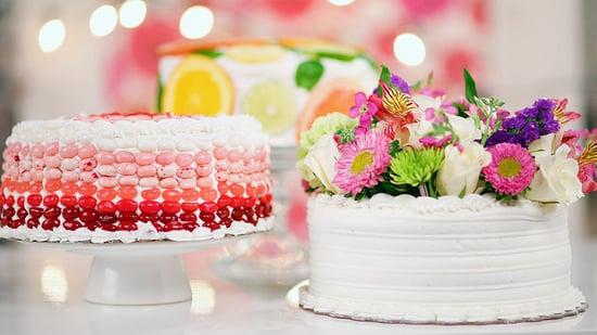 Easy Cake Decorating Ideas Video POPSUGAR Food