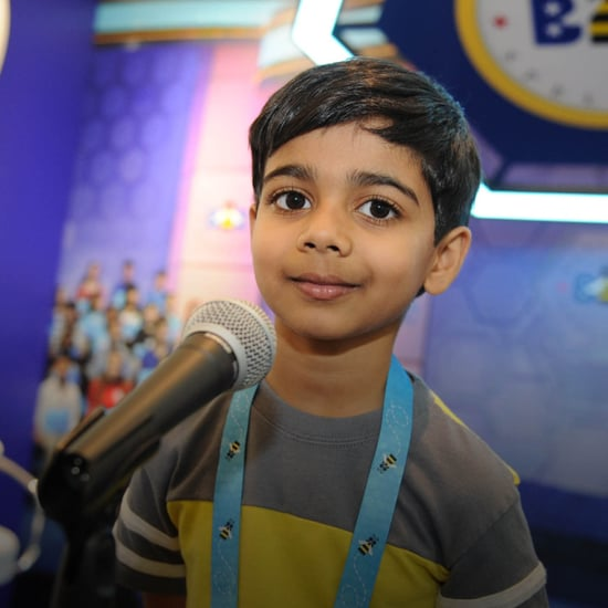6-Year-Old Spelling Bee Contestant