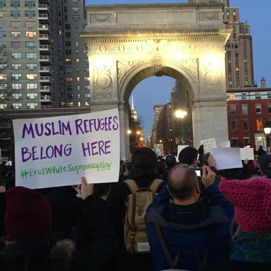 New Yorkers Protest Trump's Muslim Ban in NYC