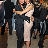 Stylist and wedding planner Jessica Mulroney and Meghan Markle at an event in March 2016 in Toronto. Jessica is reportedly helping Meghan and Harry plan their wedding down to every detail.