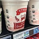 Straus Organic Plain Greek Yogurt ($8)