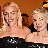 Michelle Williams & Busy Philipps at 2018 Globes Afterparty