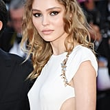 Lilly-Rose Depp Looked Like a Grecian Goddess in a Chanel Gown That Featured Side Cutouts