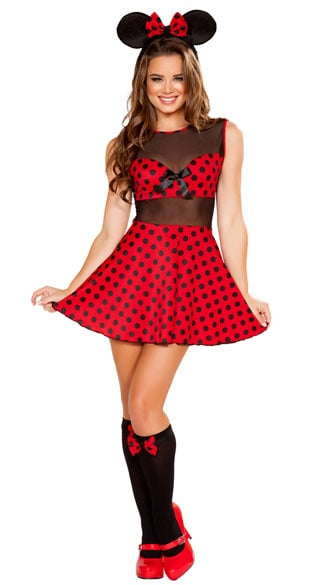 Cute Miss Mouse Costume