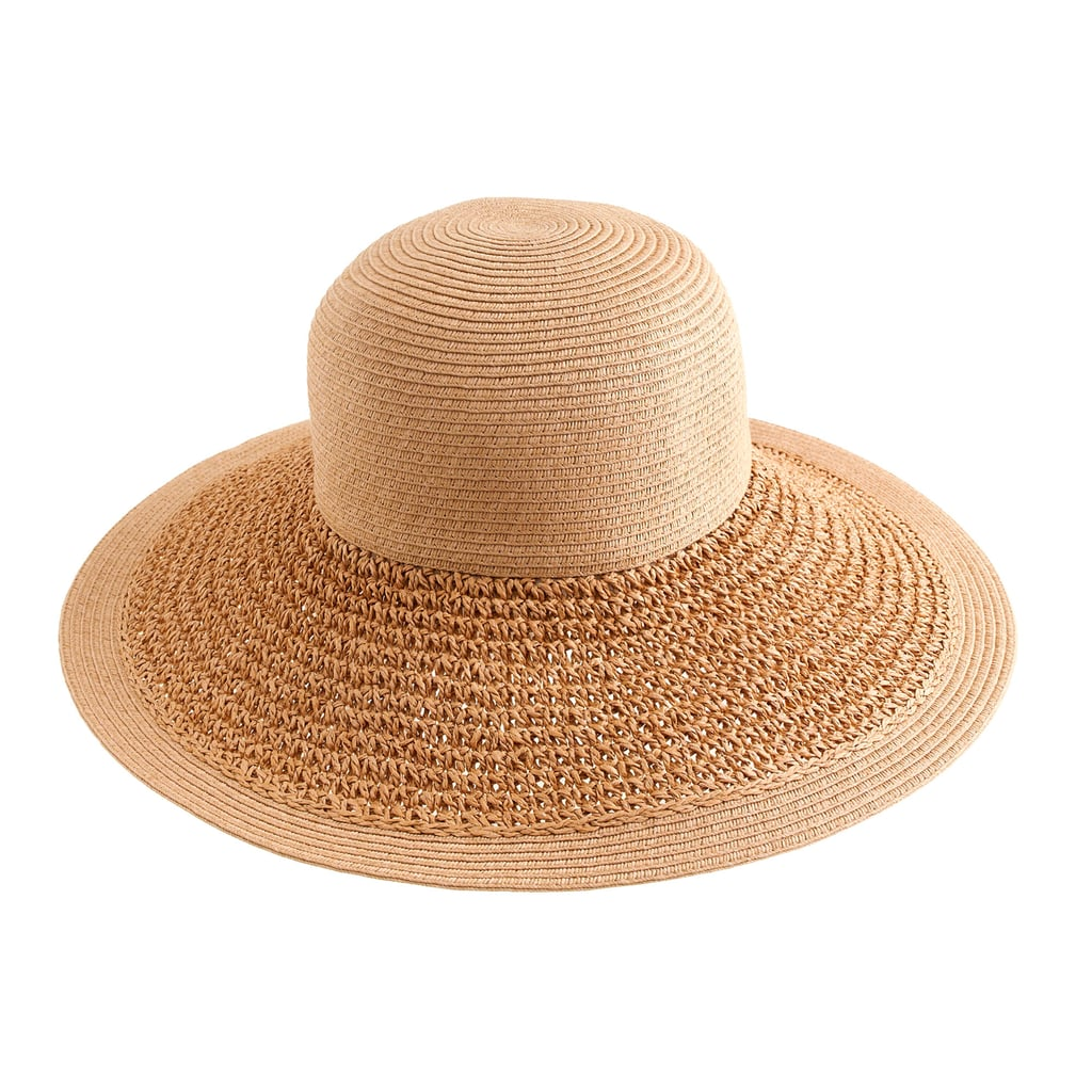 J.Crew Textured Summer Straw Hat ($35)