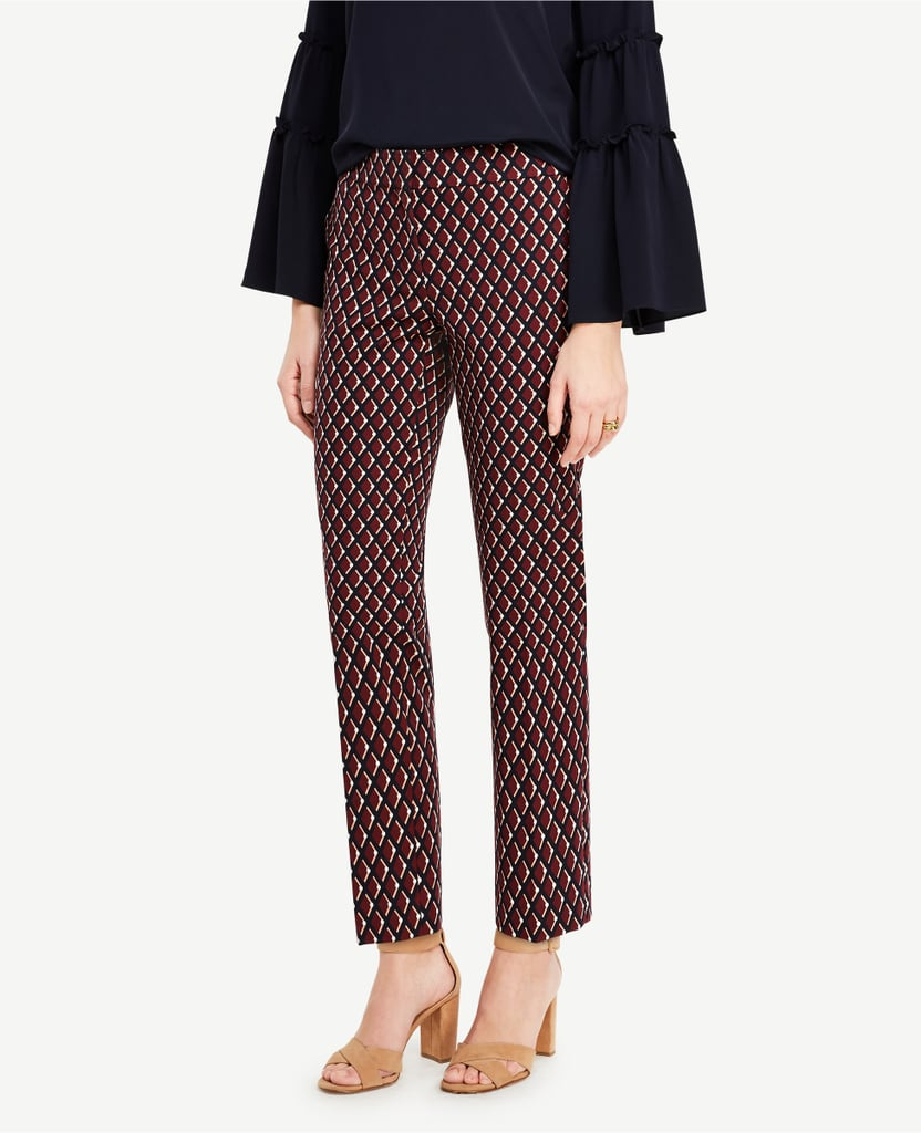 Step up your office wear style in these fitted Ann Taylor pants ($70).