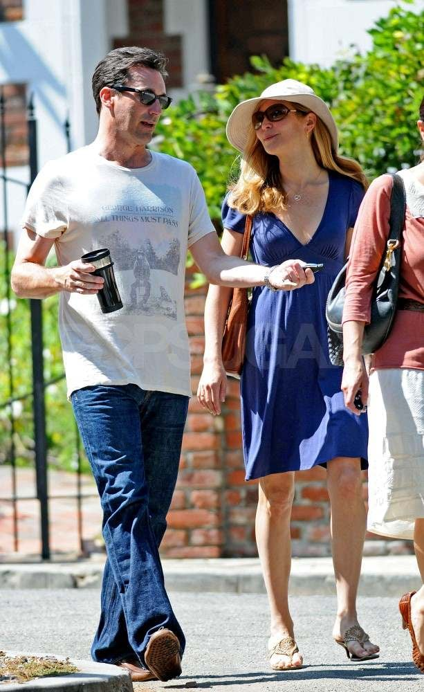 Jon Hamm and Jennifer Westfeldt Go House Hunting