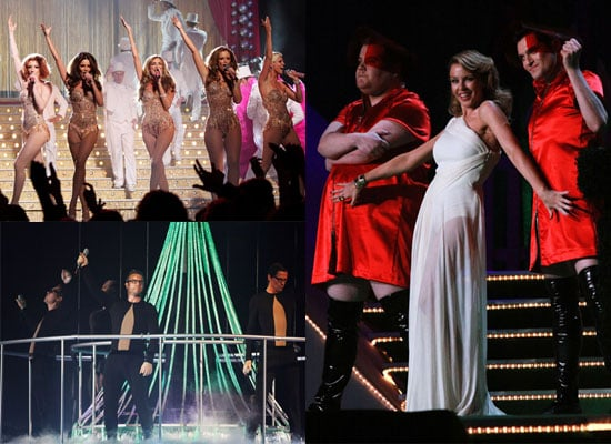 Watch 2009 Brit Awards Performances Plus Photos of Girls Aloud, Coldplay, Duffy, U2, Take That, Kylie Minogue
