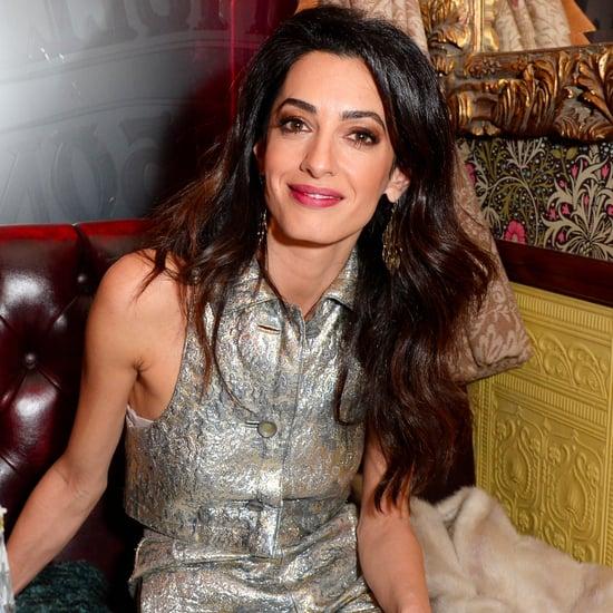 Amal Clooney Vintage Style