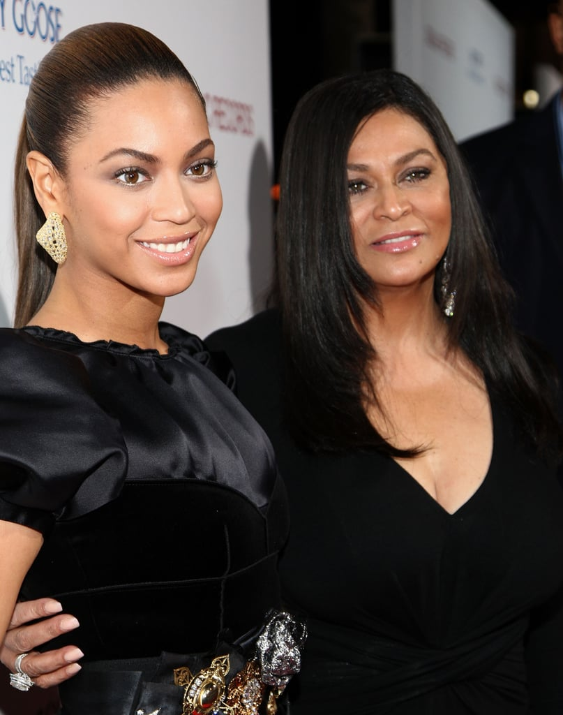Beyoncé and Tina stunned at the premiere of Cadillac Records at The Egyptian Theater in 2008.