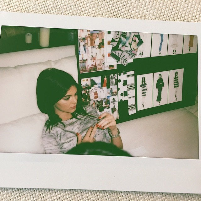 Every Great Designer Needs a Break While She's on the Job, Right Kendall?