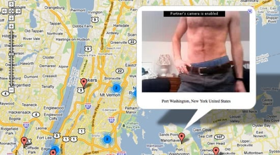 Chatroulette Map Shows You Where the Creepy Creepsters Live