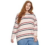 POPSUGAR Plus Size Pocket Pullover Sweater