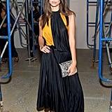 Emily Ratajkowski at the Proenza Schouler New York Fashion Week Show