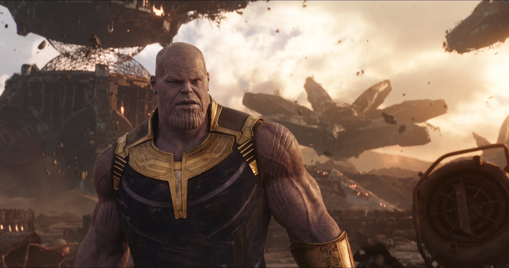 Marvel Studios' AVENGERS: INFINITY WAR..Thanos (Josh Brolin)..Photo: Film Frame..©Marvel Studios 2018