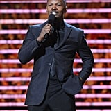Jamie Foxx took the stage at the NFL Honors award show.