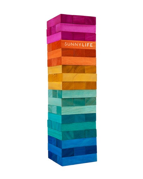 Sunnylife Giant Jumbling Tower