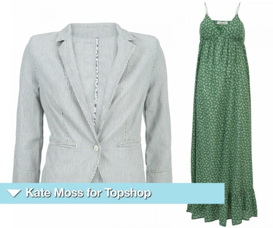 Clothing from Kate Moss for Topshop Summer 2010