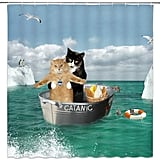 Cats Titanic Shower Curtain