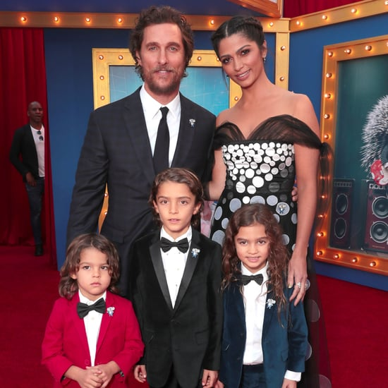 Matthew McConaughey and His Family at Sing LA Premiere 2016