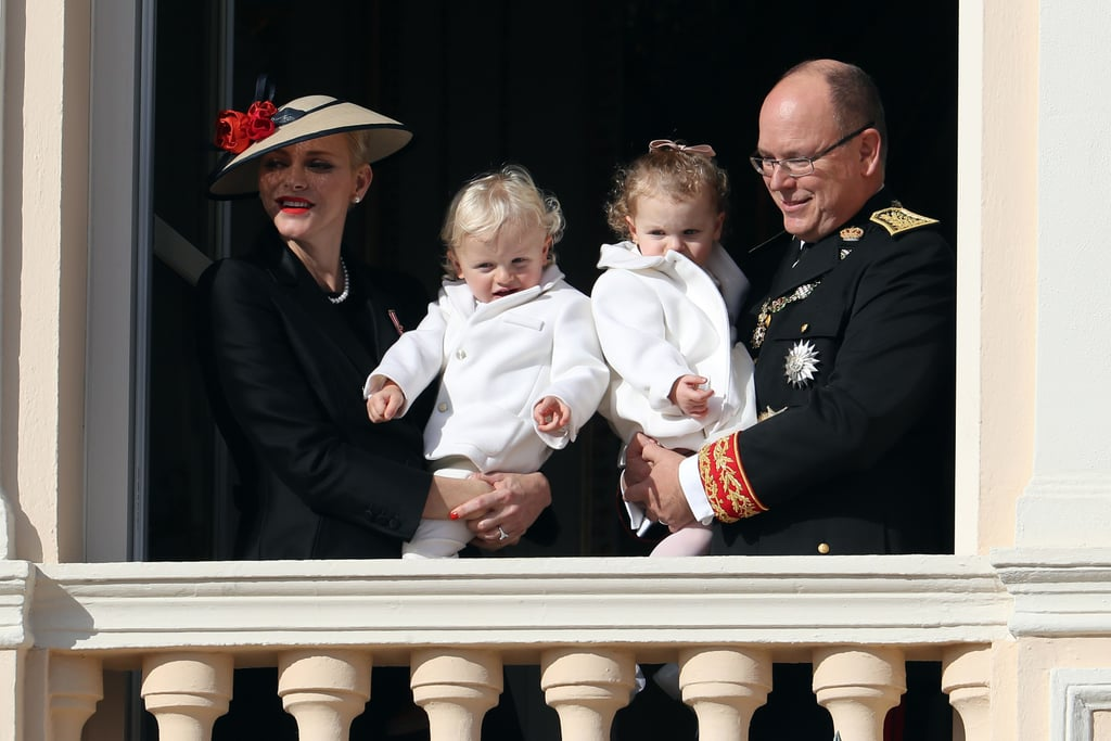 The Monaco Royal Family at National Day November 2016