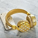 Gold Dot Bluetooth Headphones