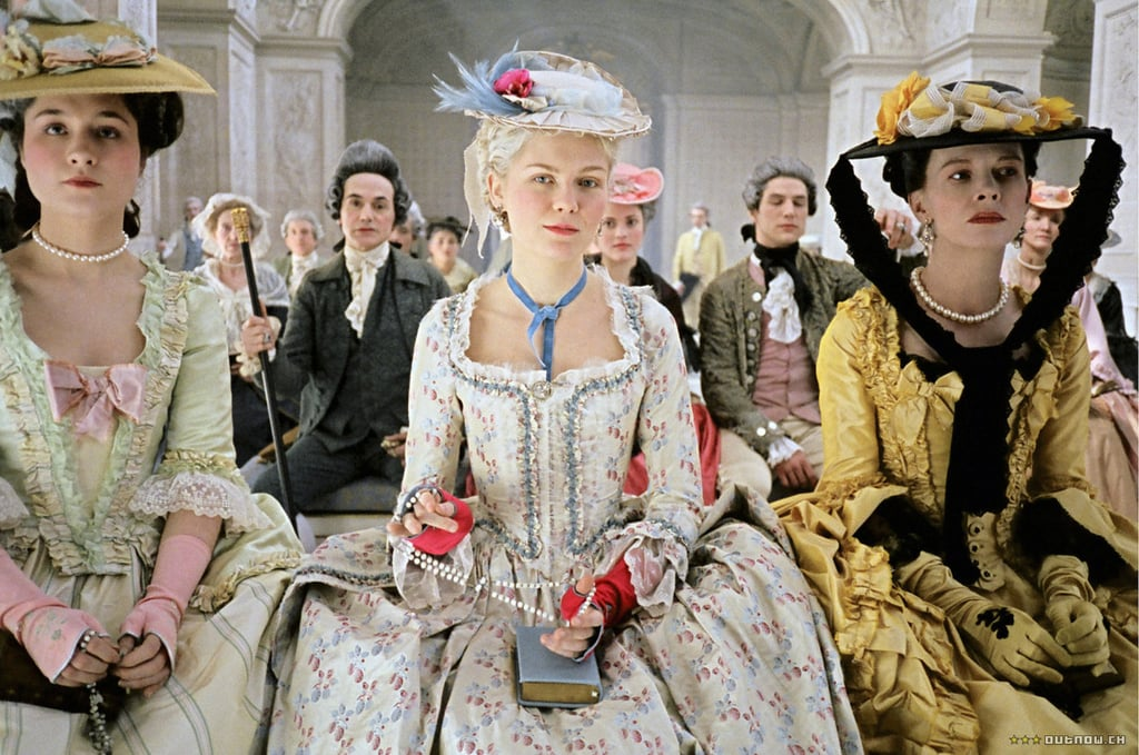 """Princesse de Lamballe and Duchesse de Polignac, Marie Antoinette Princesse de Lamballe: """"I would have told him exactly what to do with it."""" Duchesse de Polignac: """"Oh? What's that, darling?"""" Princesse de Lamballe: """"Put it back in his trousers where it belongs."""" Duchesse de Polignac: """"Lamballe, ladies and gentlemen, is what we call a prude."""""""