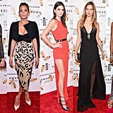 Which Supermodel Won the Red Carpet at the Fragrance Awards?