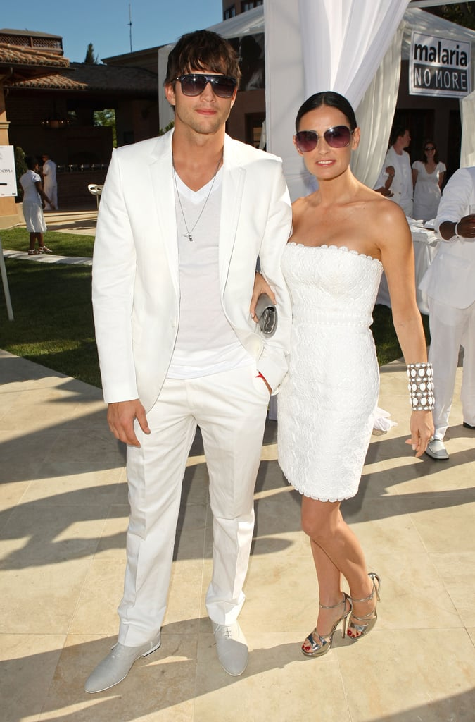 White hot! Making a styled appearance at Diddy's white party in July '09.