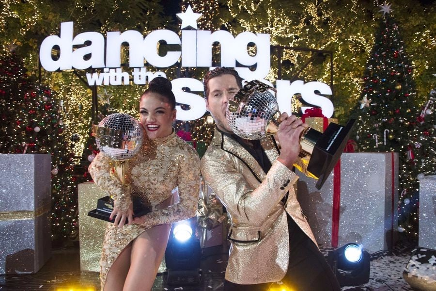 Laurie Hernandez on Dancing With the Stars Season 23   Video